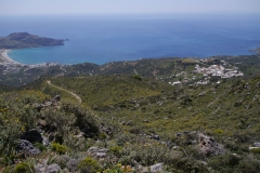 Dorfblick mit Plakias -  Village from above and the bay of Plakias